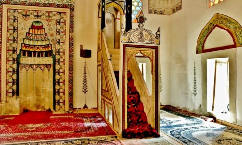 BOśNIA i HERCEGOWINA / Hercegowina / Mostar / Meczet Koski Mehmed Paszy z 1612 roku