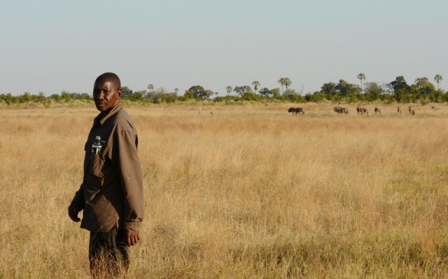 Zdjęcia: Delta Okawango, John z delty Okawango, BOTSWANA