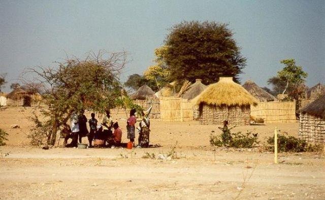 Zdjęcia: Botswana, Botswana, Wioska, BOTSWANA