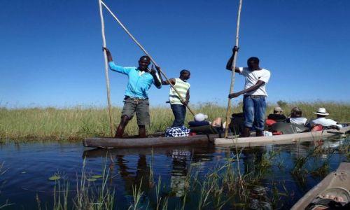 Zdjecie BOTSWANA / - / Delta Okavango / Okavango