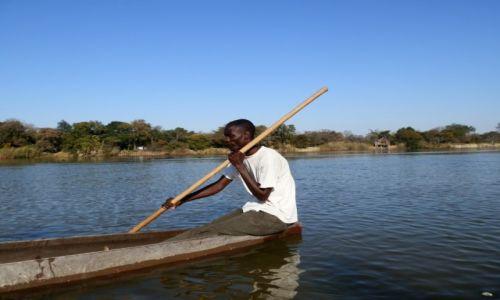 Zdjecie BOTSWANA / Ngepi / Ngepi / Mokoro trips