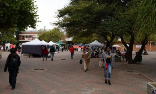 BOTSWANA / - / Gaborone / Gaborone, The Mall