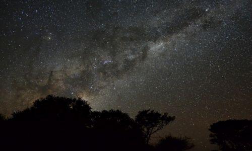 BOTSWANA / - / Wzgórza Tsodilo / Niebo nad Kalahari