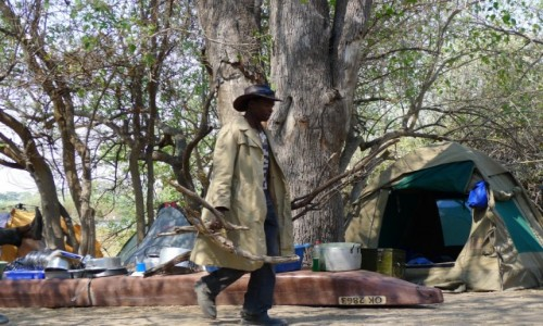 Zdjęcie BOTSWANA / Północna Botswana  / Delta Okawango/ obozowisko / Bostwana style