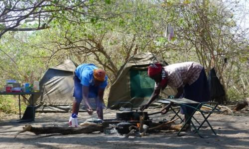 Zdjecie BOTSWANA / Północna Botswana  / Delta Okawango / Sadza