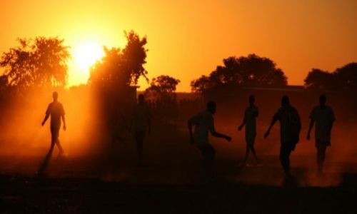Zdjecie BOTSWANA / brak / okolice Sebiny / Mundial
