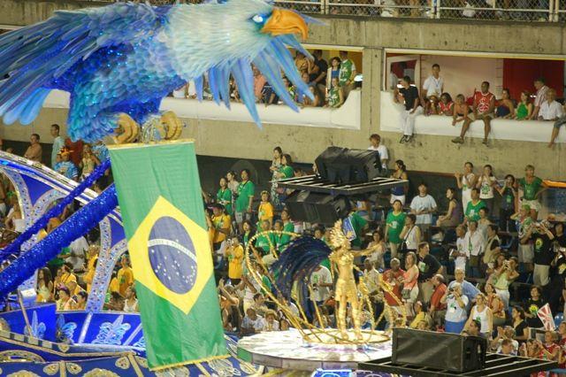 Zdjęcia: Rio de Janeiro, Sambodrom-platforma II, BRAZYLIA