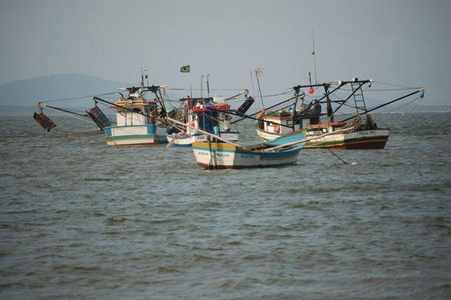Zdjęcia: Ilha do Mel, Wyspa miodowa, Kutry, BRAZYLIA