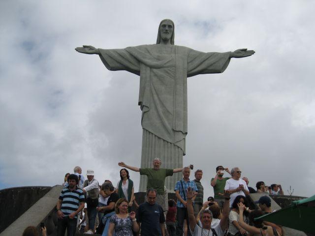 Zdjęcia: Rio de Janeiro, Brazylia, Pomnik Chr. Zbawiciela, BRAZYLIA