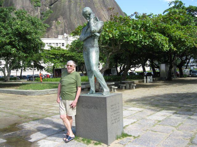 Zdjęcia: Rio de Janeiro   Czerwona plaża, Rio de Janeiro, Przy pomniku Szopena, BRAZYLIA