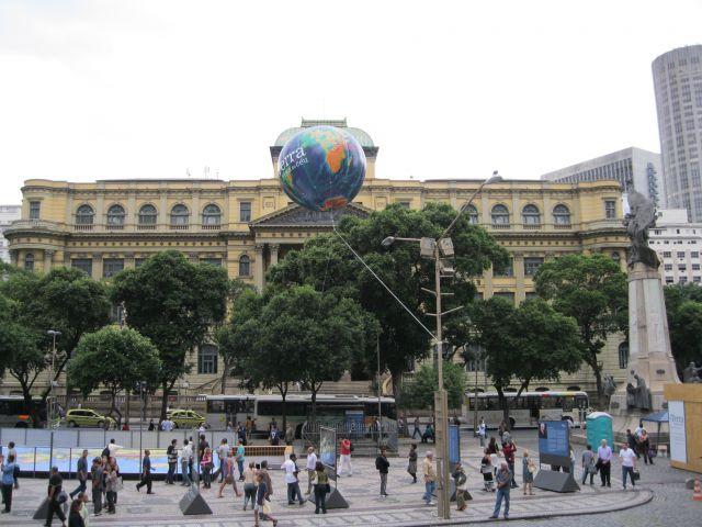 Zdjęcia: Rio de Janeiro, -Rio, Biblioteka w Rio, BRAZYLIA