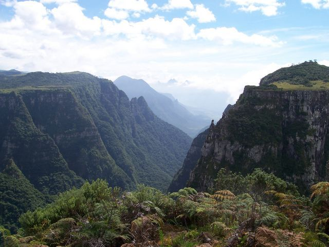 Zdjęcia: Serra Catarinense, Stan Santa Catarina, Kanion Laranjeiras, BRAZYLIA