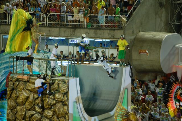 Zdjęcia: Rio de Janeiro, Sambodrom-platforma 5, BRAZYLIA