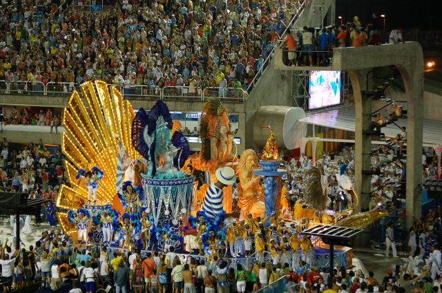 Zdjęcia: Rio de Janeiro, Sambodrom-platforma 7, BRAZYLIA