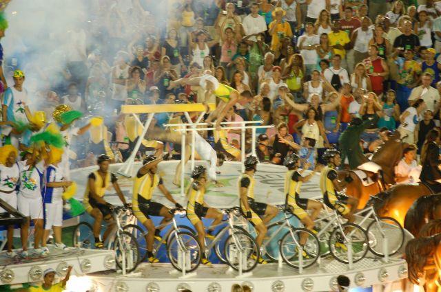 Zdj�cia: Rio de Janeiro, Sambodrom-platforma 8, BRAZYLIA