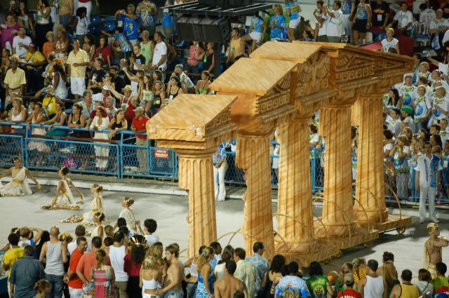 Zdjęcia: Rio de Janeiro, Sambodrom-platforma 9, BRAZYLIA