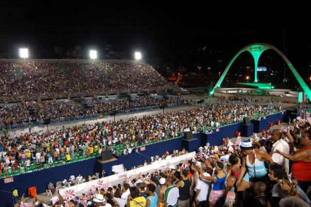 Zdjęcia: Rio de Janeiro, Sambodrom-platforma 10, BRAZYLIA