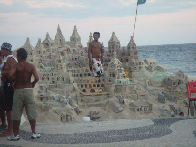 Zdjęcia: Rio de Janeiro, Zamki z piasku, BRAZYLIA