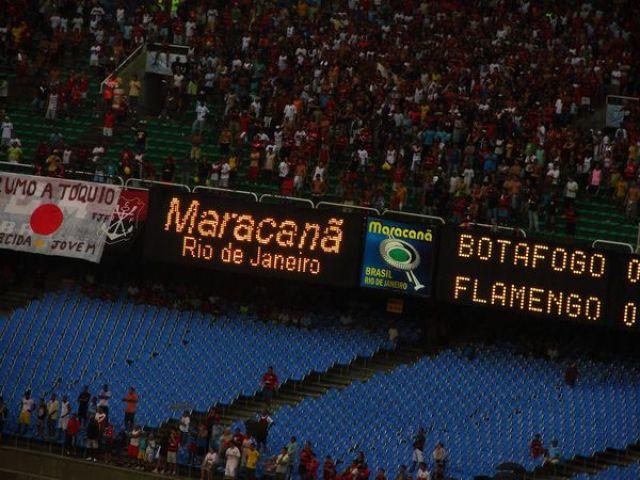 Zdjęcia: Maracana, Rio de Janeiro, Derby Rio, BRAZYLIA