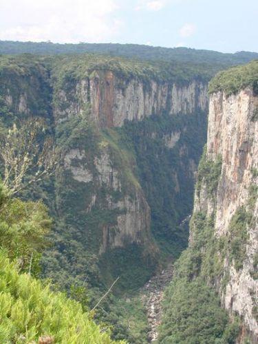 Zdjęcia: Serra Gaucho, Południowa Brazylia, Kanion Itaebezinho, BRAZYLIA