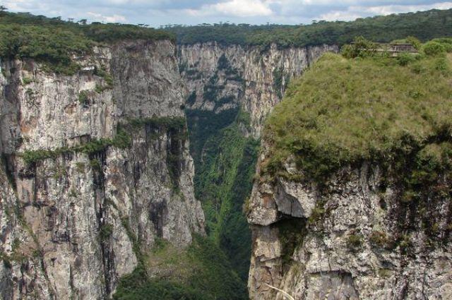 Zdjęcia: Rio Grande do Sul, Rio Grande do Sul, Kanion Itaebezinho, BRAZYLIA