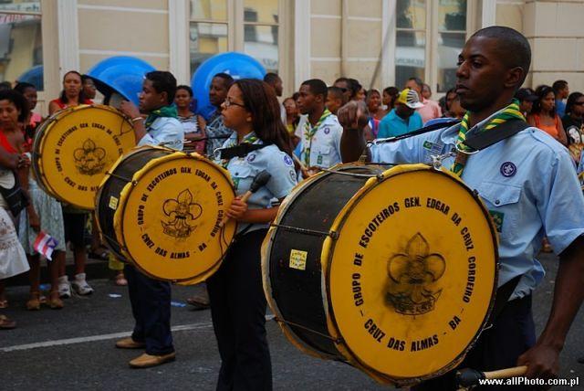 Zdj�cia: Salvador, Bahia, Bahia Independence Day celebration, BRAZYLIA