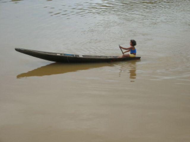Zdjęcia: gdzieś w okolicy Santarem, Amazonka, Życie Amazonki, BRAZYLIA
