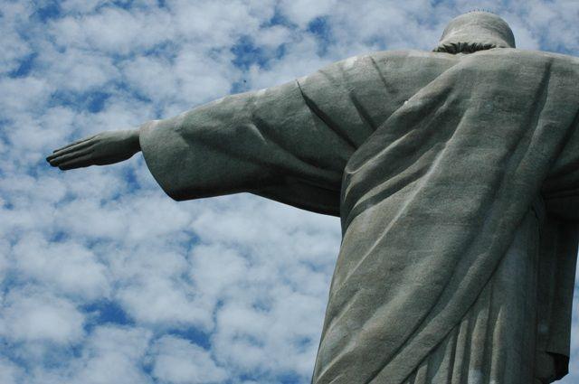 """Zdjęcia: CORCOVADO, RIO DE JANEIRO, """"KIERUNEK"""", BRAZYLIA"""