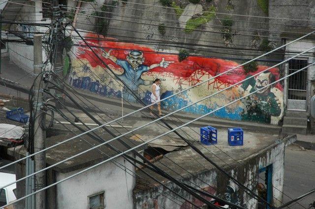 Zdjęcia: FAVELA , RIO DE JANEIRO, FAVELA RIO, BRAZYLIA
