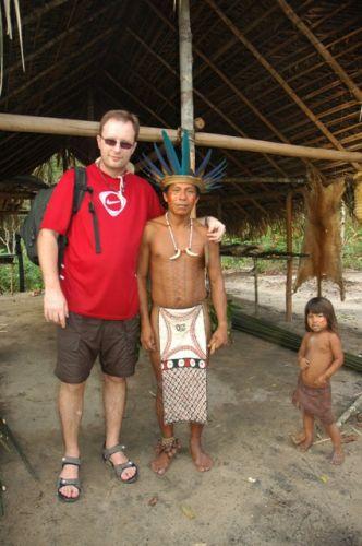 Zdjęcia: WIOSKA INDIAN , Manaus, SZWAGIER Z CÓRKĄ, BRAZYLIA