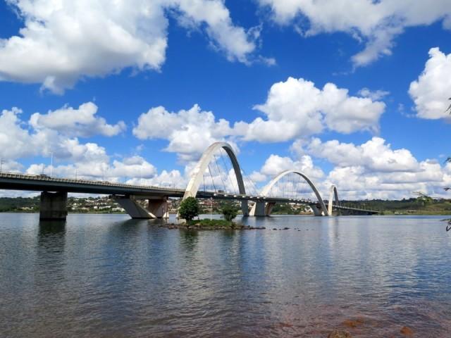 Zdjęcia: Brasília, Dystrykt Federalny, Juscelino Kubitschek Bridge, BRAZYLIA
