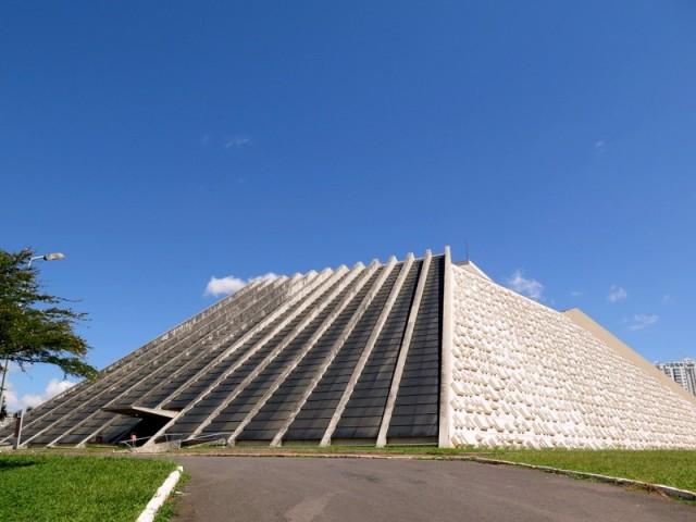Zdjęcia: Brasília, Dystrykt Federalny, Teatr Narodowy im. Cláudio Santoro, BRAZYLIA
