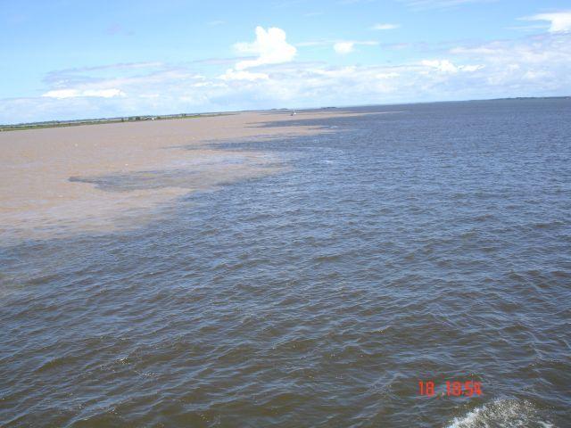 Zdjęcia: rzeka, tam gdzie miesza się Amazonka, BRAZYLIA