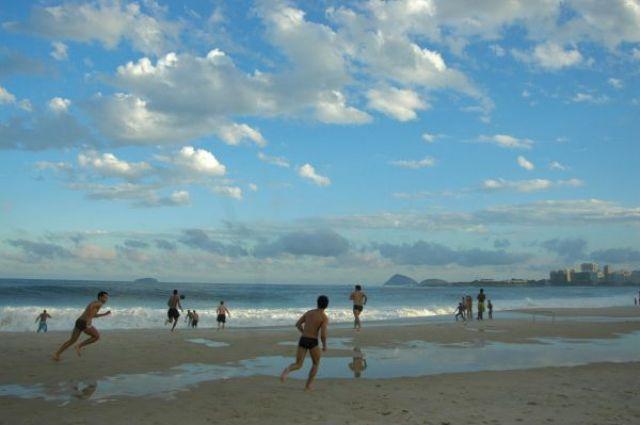 Zdjęcia: Rio de Janeiro, Na Copacabanie, BRAZYLIA