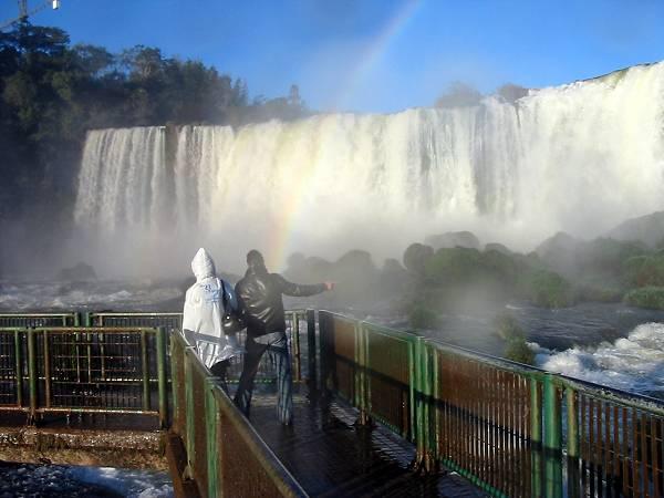 Zdjęcia: Wododpady Iguacu, Podejść jak najbliżej, BRAZYLIA