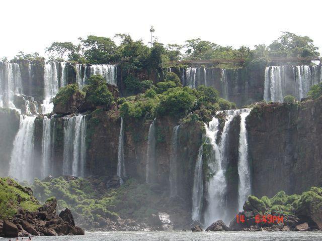 Zdjęcia: Foz de Iguazu, Foz de Iguazu, spokojne Iguazu, BRAZYLIA