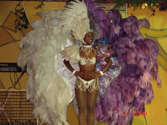 Zdjęcia: Rio de Janeiro, Rio de Janeiro, tradycyjny strój na karnawał:), BRAZYLIA