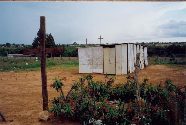 Zdjęcia: Aquas Lindas, Stan Gaias, kaplica misyjna, BRAZYLIA