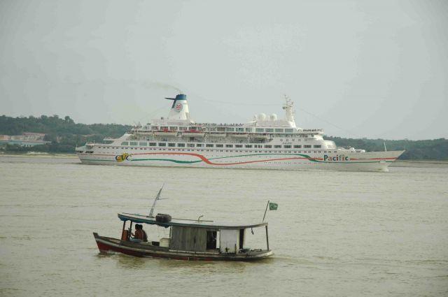 Zdjęcia: dorzecze rio negro, amazonia, postęp jest wszędzie, BRAZYLIA