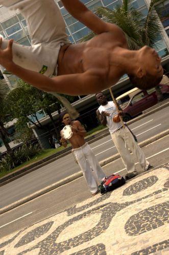 Zdj�cia: Rio de Janeiro, Uliczni tancerze, BRAZYLIA