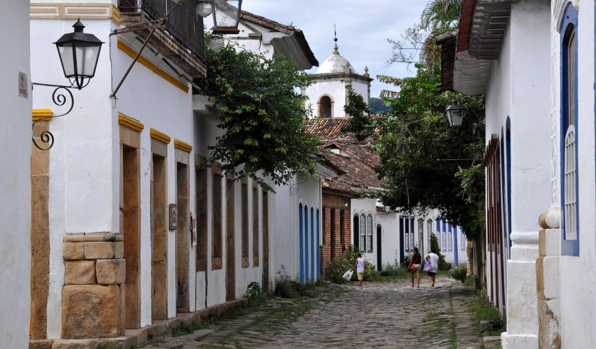 Zdjęcia: Parati, Stan Rio De Janeiro, Uliczka, BRAZYLIA