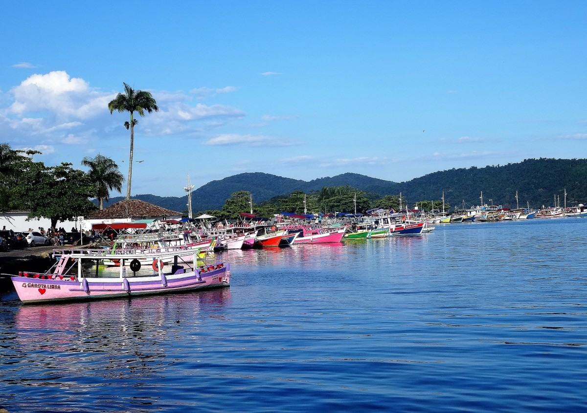 Zdjęcia: Paraty, Stan Rio de Janeiro, Paraty - port, BRAZYLIA