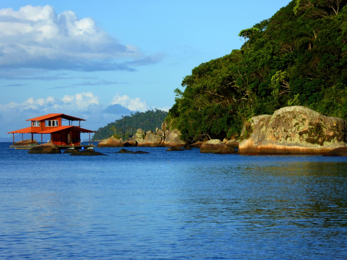 Zdjęcia: Ilha Grande, RJ, Domek na wodzie, BRAZYLIA