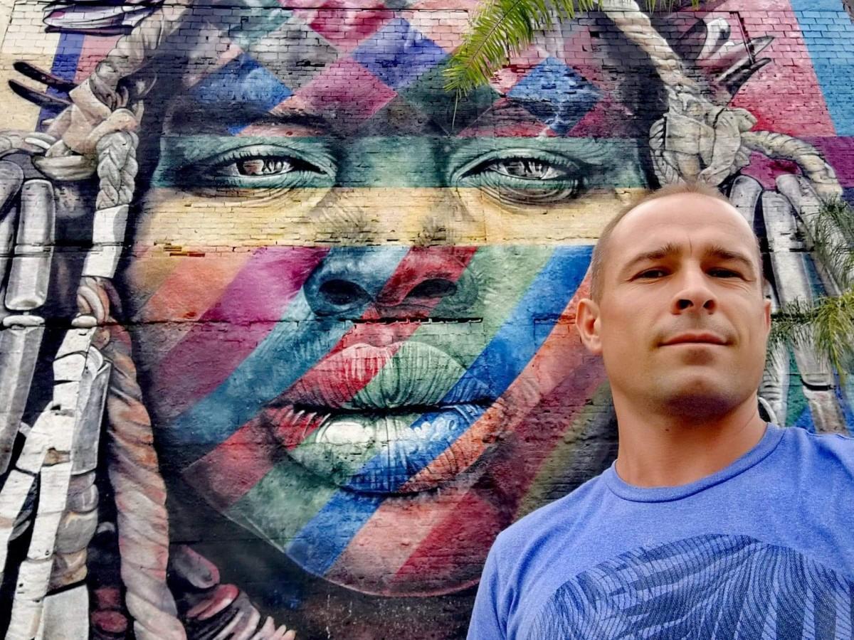 Zdjęcia: Rio de Janeiro , Brazylia ,  Grafika , BRAZYLIA