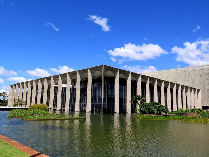 Zdjęcia: Brasília, Dystrykt Federalny, Palácio Itamaraty – Ministerstwo Spraw Zagranicznych , BRAZYLIA