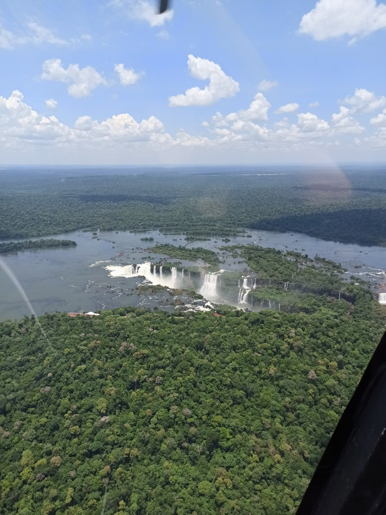 Zdjęcia: Foz do Iguacu, Misiones, Lot nad wodospadami Iguasu, BRAZYLIA