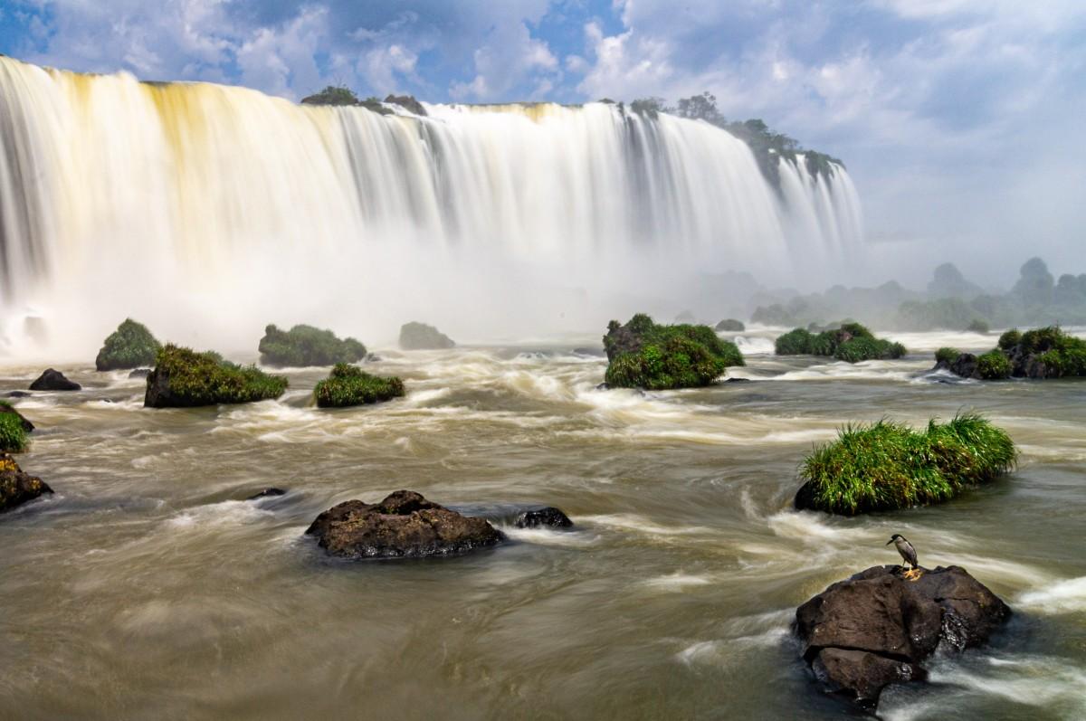 Zdjęcia: jw, Iguazu, Na wysepce, BRAZYLIA