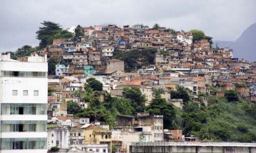 Zdjecie BRAZYLIA / - / Rio De Janeiro / Fawela