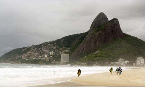 BRAZYLIA / - / Rio De Janeiro / Ipanema Beach
