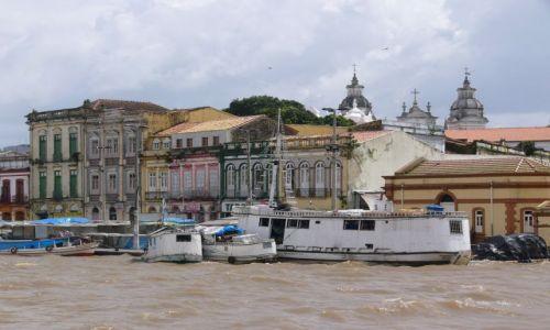 BRAZYLIA / Belem / Port / Częściowe zachmurzenie